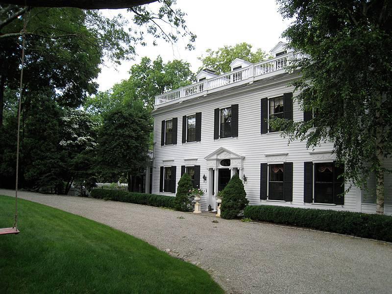 Smith House Piante : Exterior house painting fairfield county ct